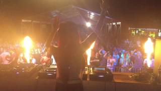 DJ FLOWER aka Virag Voksan @ Gastro fest, Komoca (SK) 2017 part1