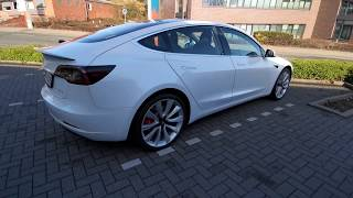 Unser Tesla Model 3 Performance: Walkaround & Interieur / Interior [Germany]