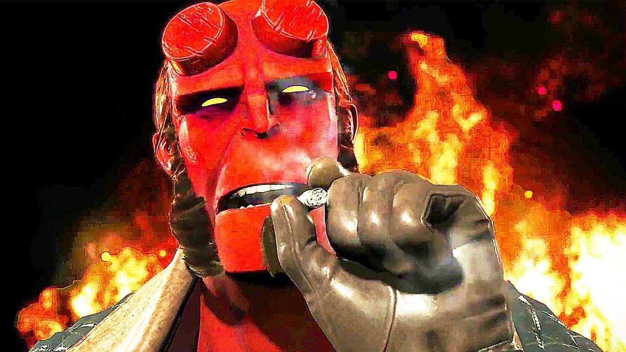 INJUSTICE 2 Hellboy Trailer (2017) PS4 / Xbox One