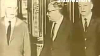 William Bonner - Primeiro Jornal Nacional 1969