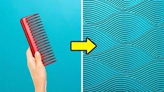 18 فكرة رائعة لتغيير ديكور جدران منزلك
