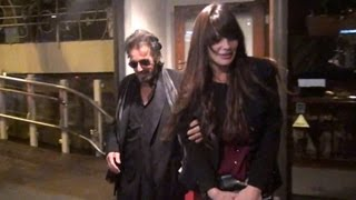 Al Pacino Clings To Younger Girlfriend Lucila Sola At Madeo