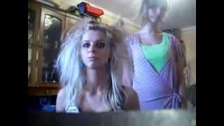 Угарные девчонки решили записать клип