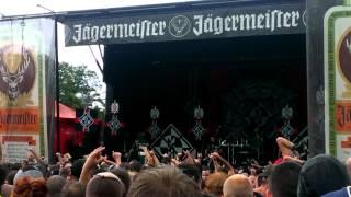 Machine Head - Locust (Live at Mayhem Fest at DTE 7/28/13)