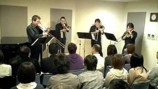 Jazz Trombone Quartet VOLTZ [Sanibel Sojurn (by Jon Welch)]