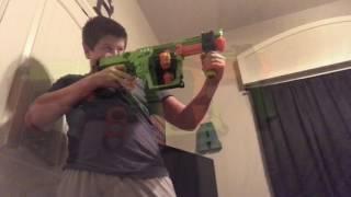 Nerf gun dominator zombie strike