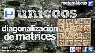 Imagen en miniatura para ALGEBRA Matriz Diagonal