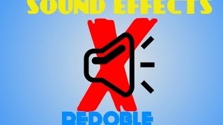 REDOBLE - SOUND EFFECTS X