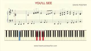 "How To Play Piano: Madonna ""You'll See"""