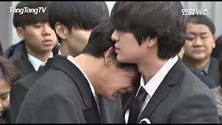 SHINee Onew, Taemin, Minho, Key and Friends Can't Keep Tears for last moment with Jonghyun