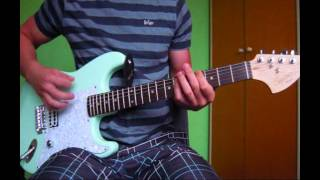 Blink 182 give me one good reason guitar cover