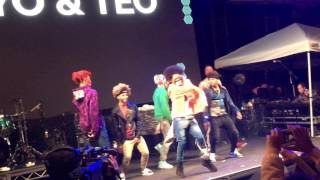"Ayo & Teo x The Future Kingz (Full Performance) ""Mask Off"" Live"