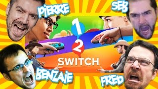 12 Switch - Soirée Pizza du Cringe ! avec JDG/Benzaïe/Alby