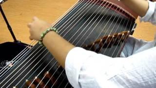 "Guzheng ""Swordsman"" theme song 古箏 ""滄海一聲笑"""