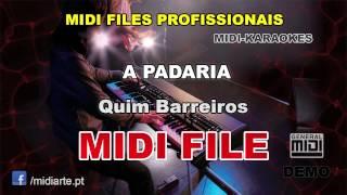 ♬ Midi file  - A PADARIA - Quim Barreiros