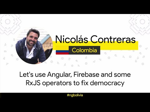 Let's use Angular, Firebase and some RxJS operators to fix democracy