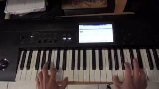 JUNIOR KLAN EL COCKTELITO (PIANO/TECLADOS) SOLO DE ORGANO TUTORIAL (KORG)