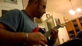 """PEARL JAM - """"Unthought Known"""" - AndreaZ. (guitar cover 15-10-2013)"""