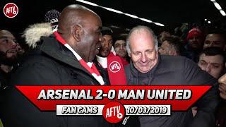 Arsenal 2-0 Man United | Mark Goldbridge Is Smashing Up His Green Screen Right Now! (Claude)