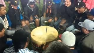 Northern Cree live at Mandaree pow wow 2015