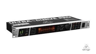 ULTRACURVE PRO DEQ2496 High-Precision Digital 24-bit/ 96 kHz EQ/RTA Mastering processor