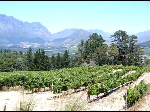 The Lovely Franschhoek Valley in South Africa