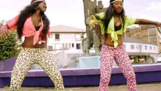 "Konshens Feat Rickman ""TURBO WINE"" official choregraphy video by Les Tigresses sept 2013"