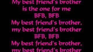 Victoria Justice - Best Friends Brother (BFB)  Lyrics