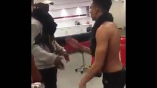 Pogba And Lingard Dance To Wizkid song 'Hush Up the Silence'