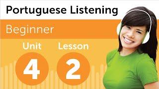 Brazilian Portuguese Listening Practice - Finding A Friend's Apartment in Portuguese