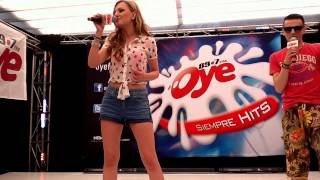 One Million - Alexandra Stan en el Oye Live de Oye 89.7 FM