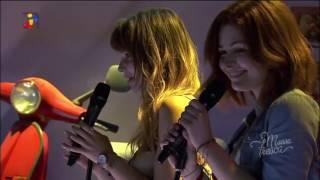 Maria e Catarina arrasam no concerto
