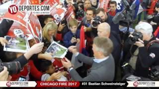 Bastian Schweinsteiger Chicago Fire Press Conference