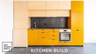 I Built a Kitchen! // Tiny Apartment Ep.4