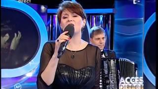 Adriana Antoni a cântat la Acces direct!