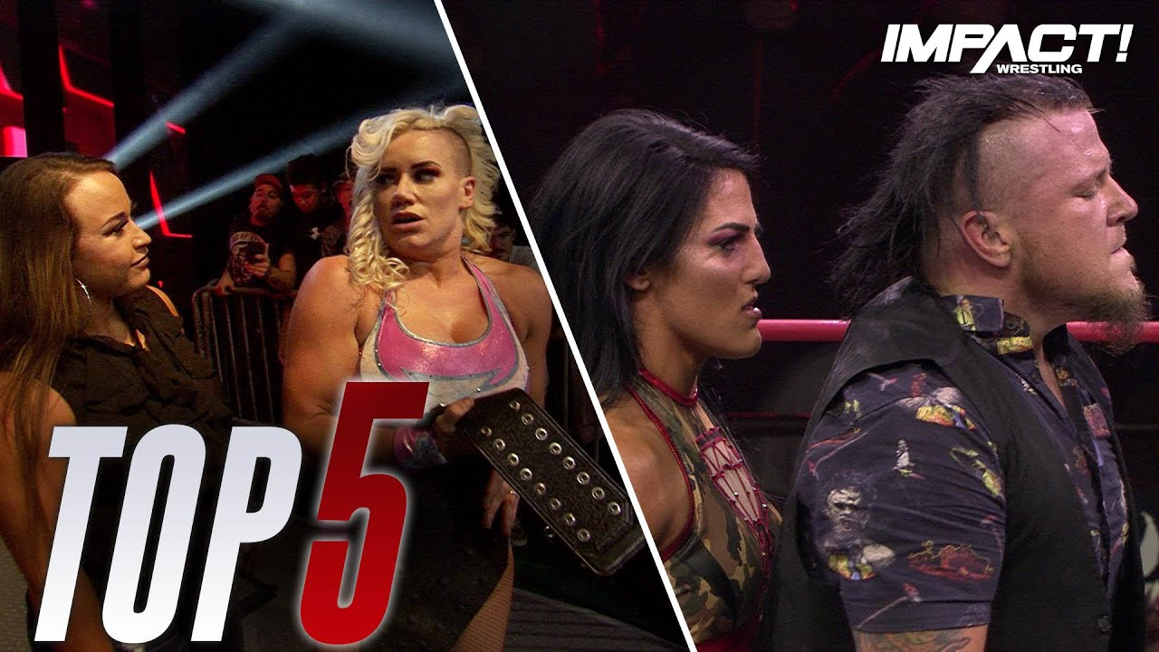 Top 5 Must-See Moments from impact Wrestling for Nov 5, 2019
