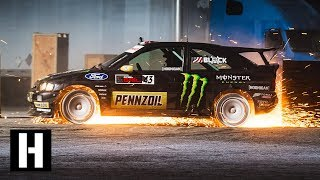 Ken Block's GYMKHANA TEN: The Ultimate Tire Slaying Tour