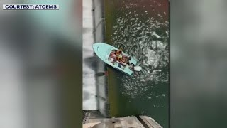 Four pulled to safety after almost going over dam   FOX 7 Austin