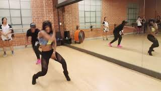 Cardi B - BODAK YELLO - SHAWNA POPS IN HIP-HOP CLASS