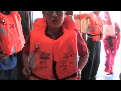Important Life Boat Drill on The Viking Lomonosov Ukraine River Cruise