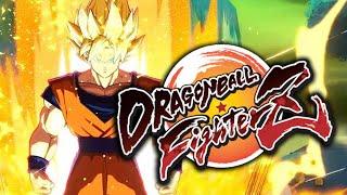DRAGON BALL FIGHTERZ LIVE REACTION | Dragon Ball Fighter Z - Gameplay Reveal Reaction [Xbox E3 2017]
