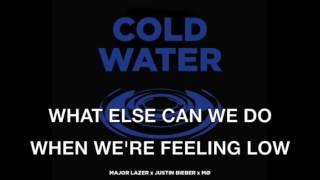 Justin bieber cold water karaoke