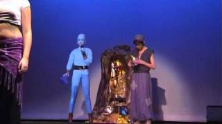 Lindy als de Geest in Aladdin part 2; matinee 12 feb 2011