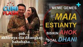 Meme Gemes Maia Estianty Bisikin Ahok Soal Dhani - CumiFlash 02 Desember 2016
