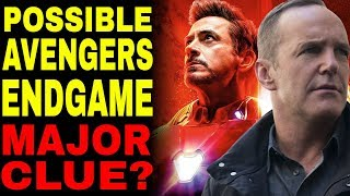The Avengers Endgame Clue In Agents of SHIELD
