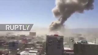 Afghanistan: Huge car bomb explosion in diplomatic area of Kabul
