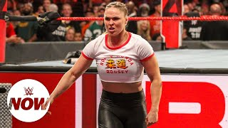 "Ronda Rousey goes off on ""Do Nothing Bellas"": WWE Now"