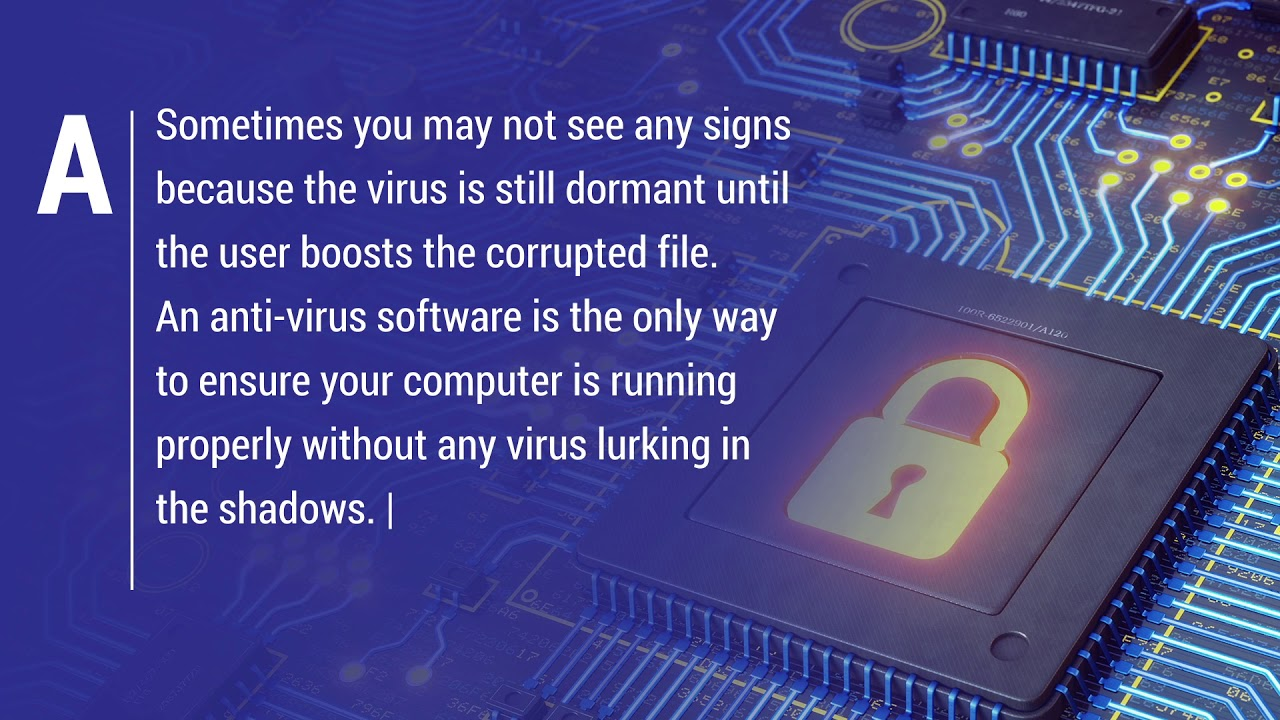 How do you know if your Computer has a Virus
