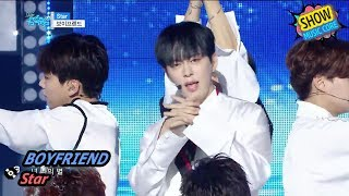 [HOT] BOYFRIEND - Star, 보이프렌드 - 스타 Show Music core 20170819