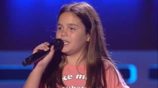 """Claudia: """"Uncover"""" - Audiciones a Ciegas - La Voz Kids 2017"""